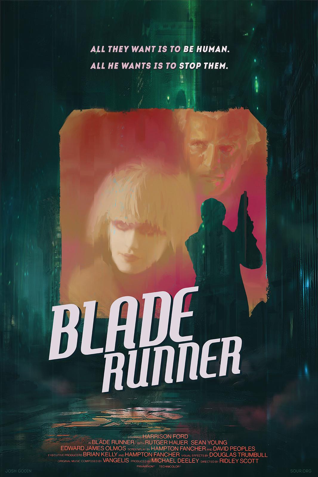 Blade Runner - sci-fi noir