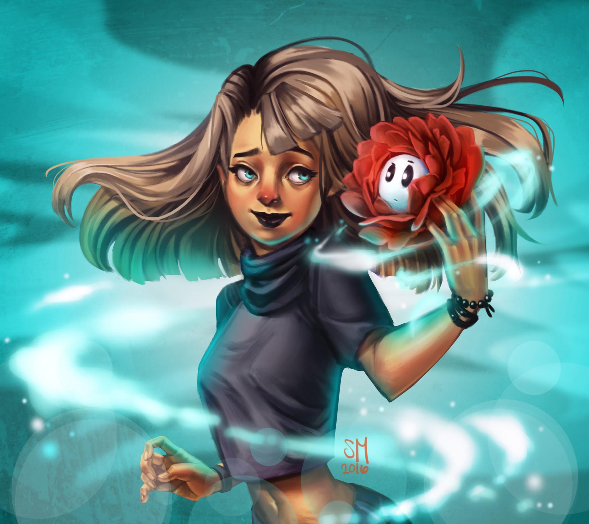 Sophia manio ghostflower
