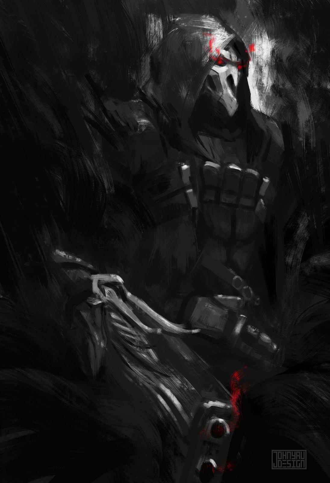 Overwatch Reaper Sketch