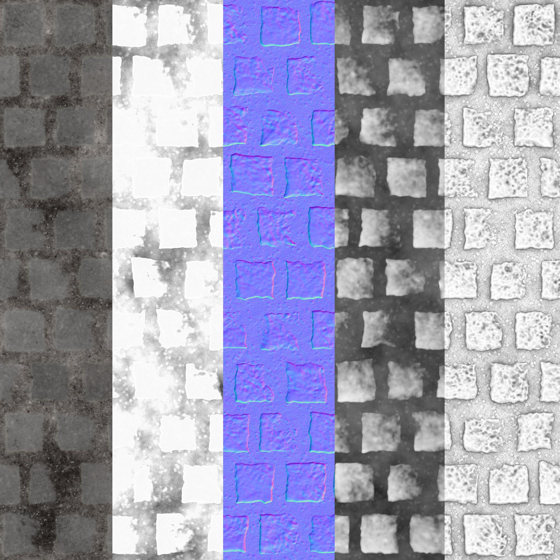 Vinicius hernandes cobblestone basecolor