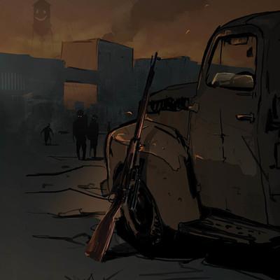 Sebastian komorowski redneck his rifle and zombie apocallypse
