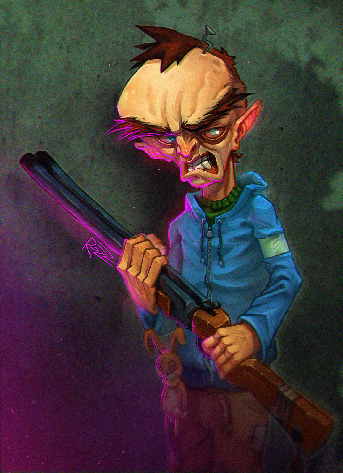 Angry Hunter