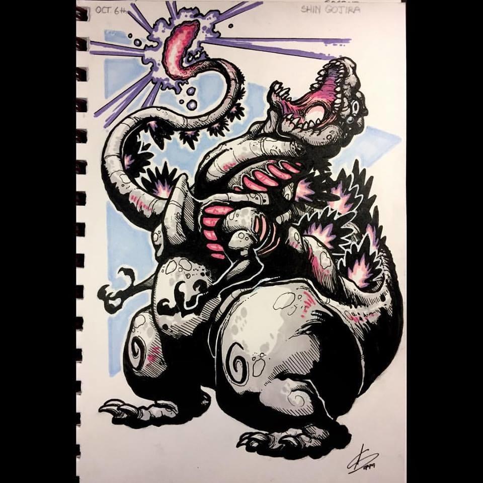 Day 6 - Shin Godzilla