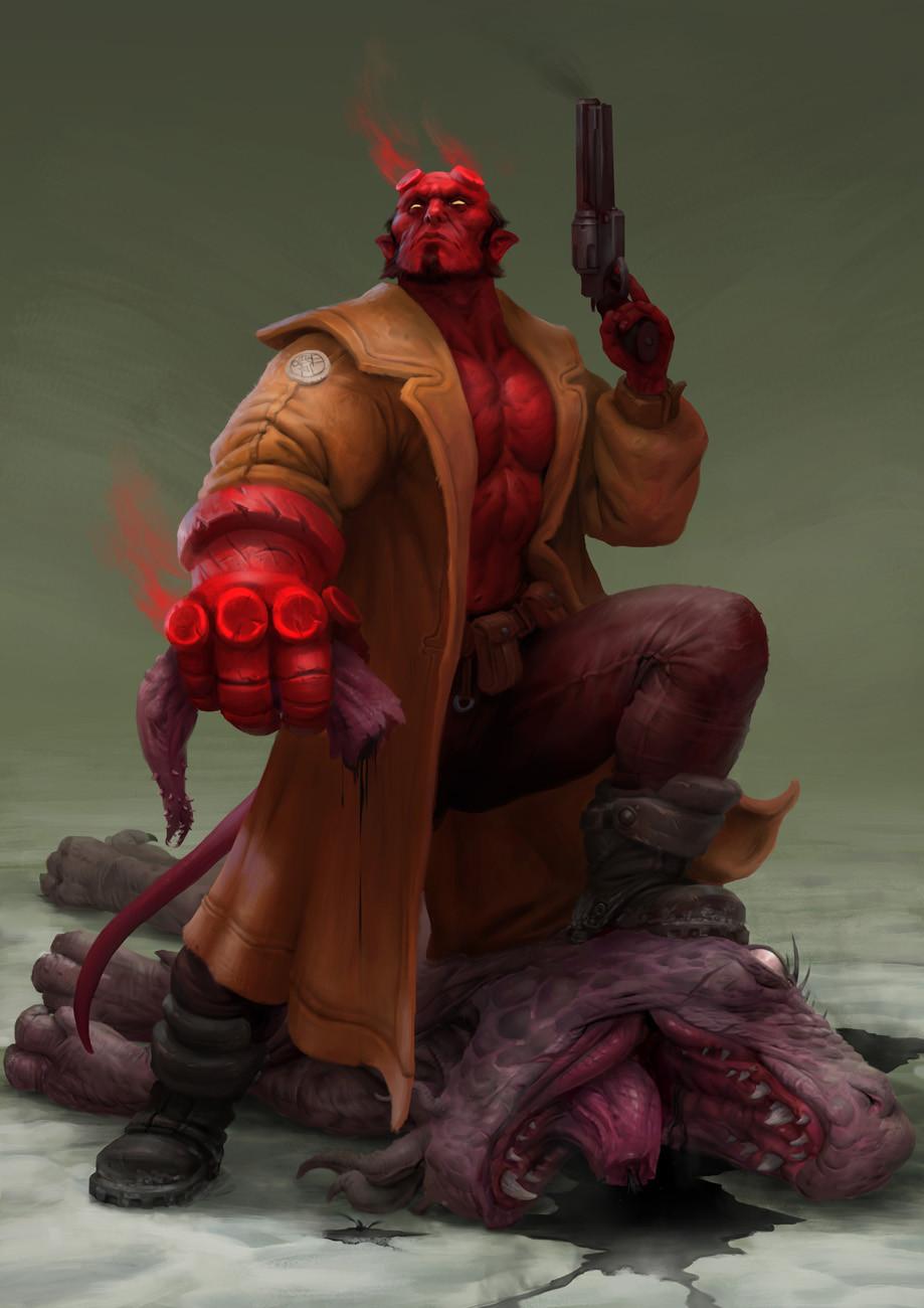 Miro petrov hellboy