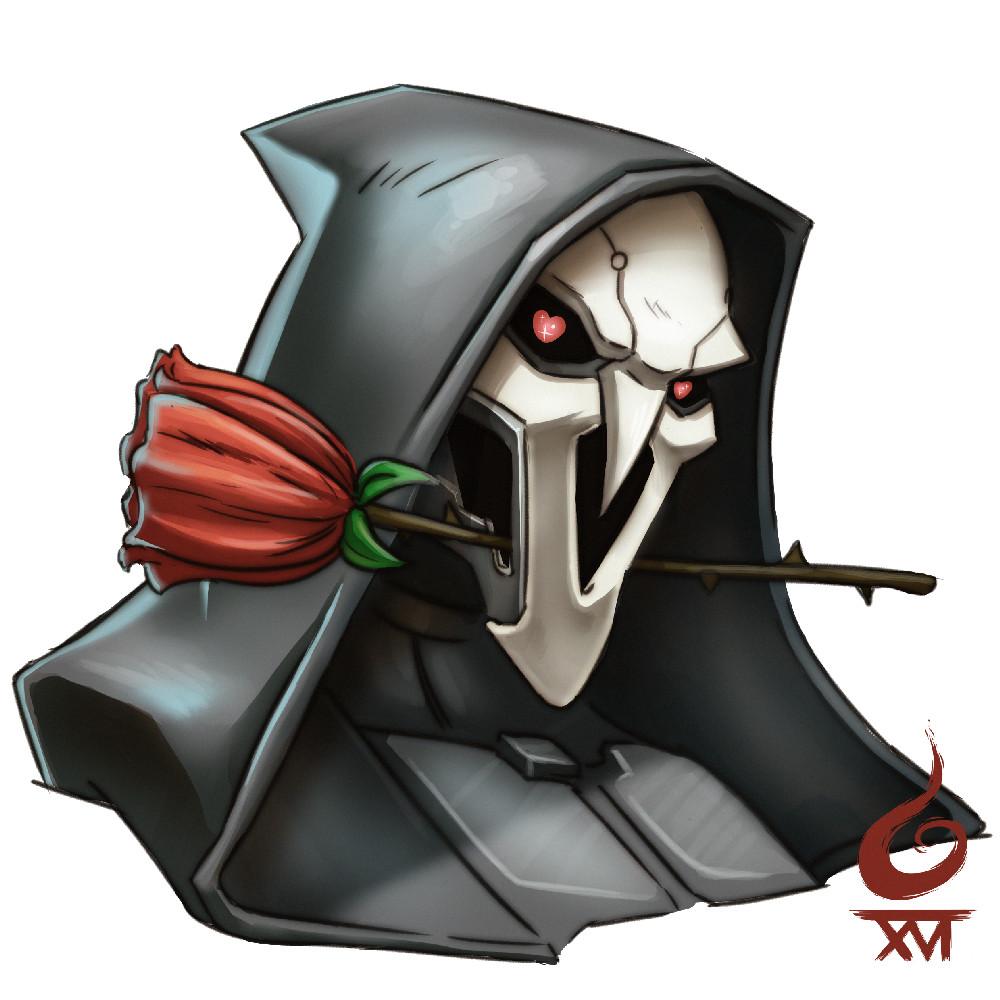OW Fanart Reaper