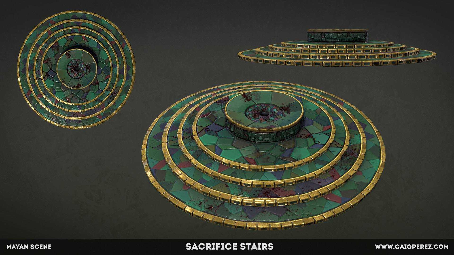 Caio perez sacrifice stairs