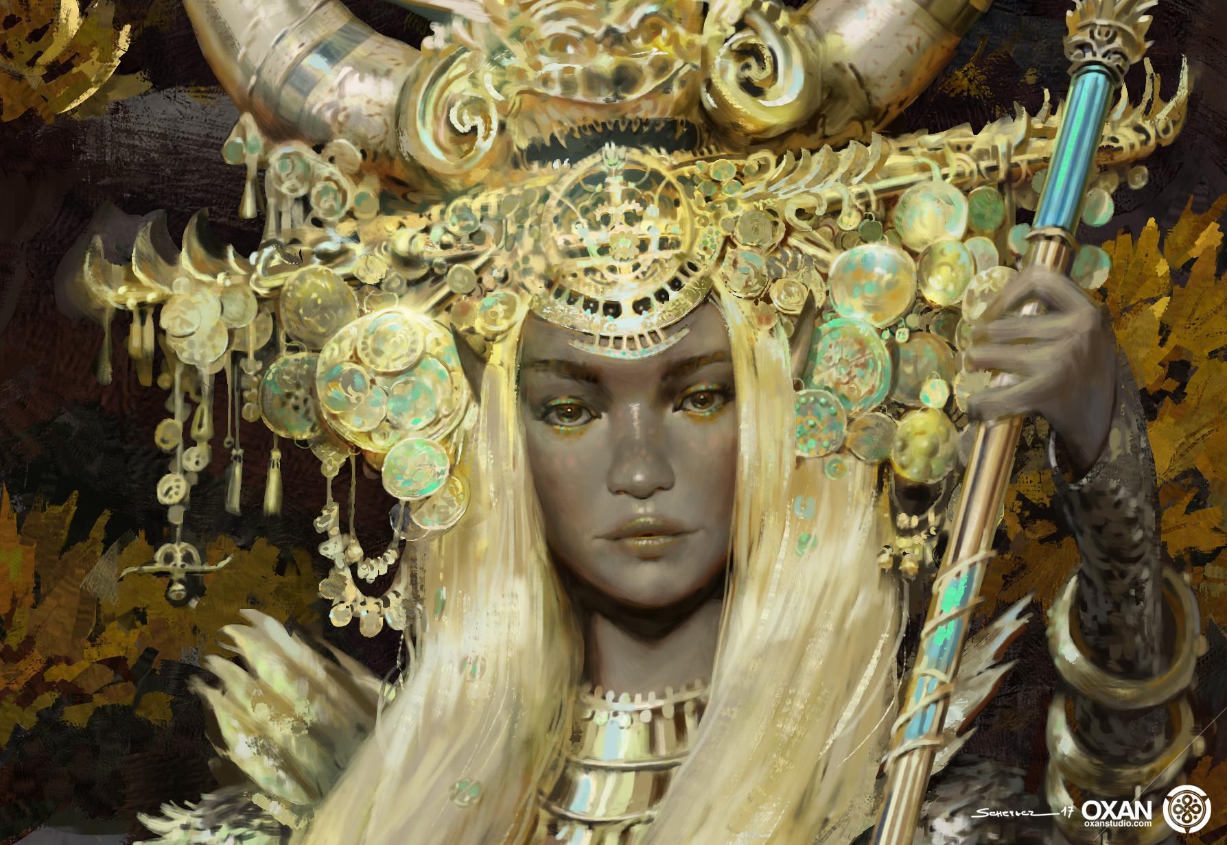 Yohann schepacz oxan studio elf queen fw2