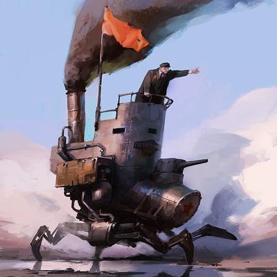 Vladimir malakhovskiy revolution chariot