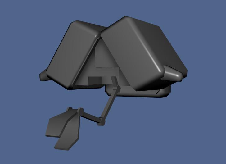 Microbot open case front