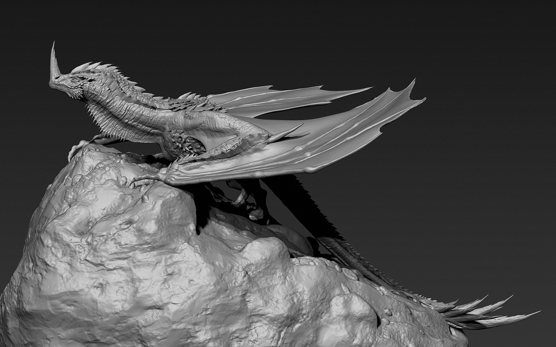 Jia hao 2017 horneddragon digitalsculpting 02 01