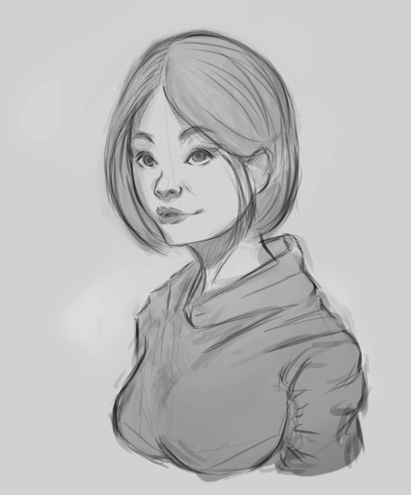 Alexander garcia girl in hoodie