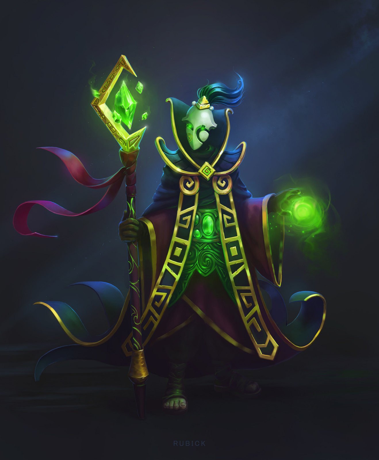 Rubick Fan Art