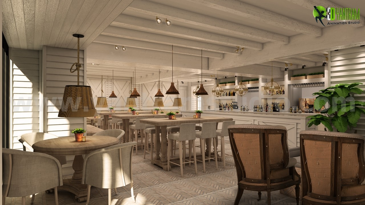 Yantram Architectural Design Studio Awesome Bar Restaurant Design Ideas By Yantram Interior Concept Drawings Mexico City