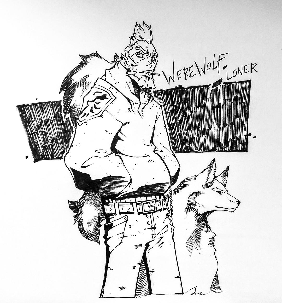 Jerome brulin 171008 werewolfloner ld