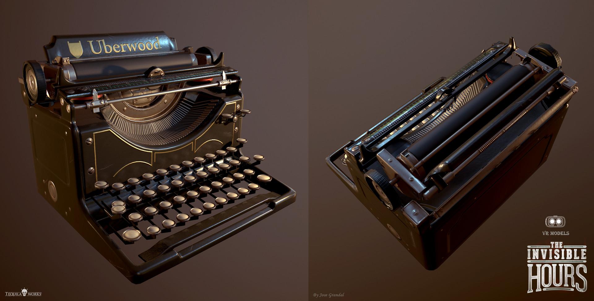 Jose grandal typingmachine 1
