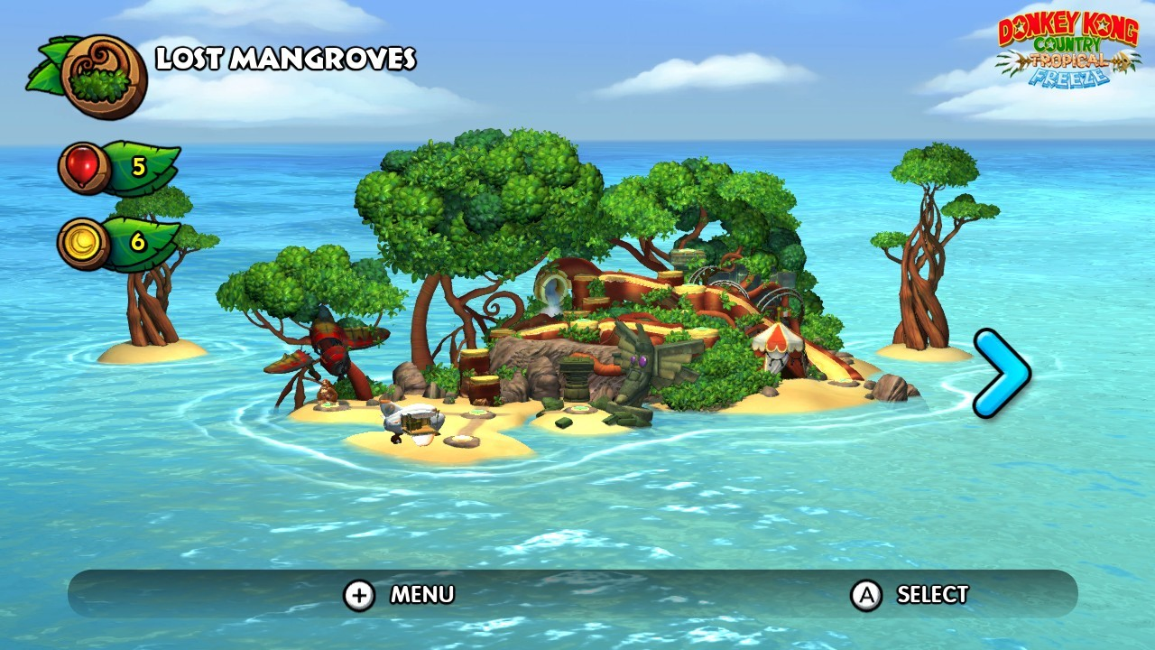 ArtStation - Donkey Kong Country Tropical Freeze le Screen and ... on