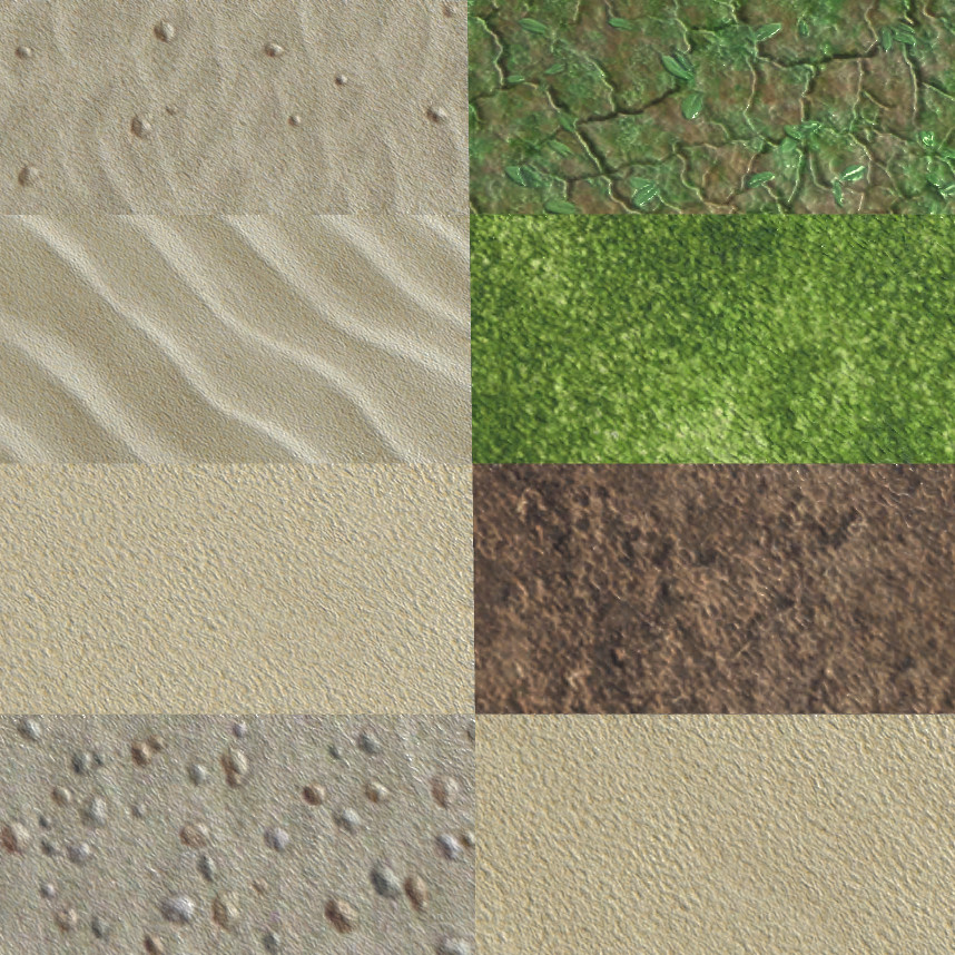 Tiling textures