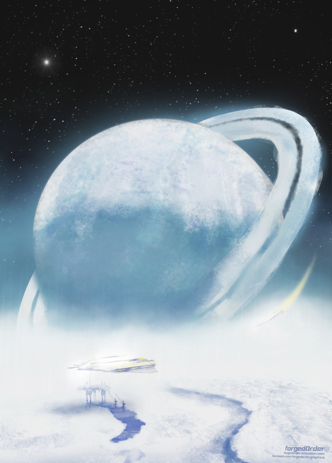 Recharge on the ice planet