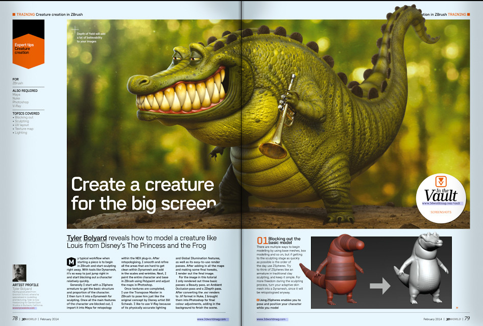 3D World Article