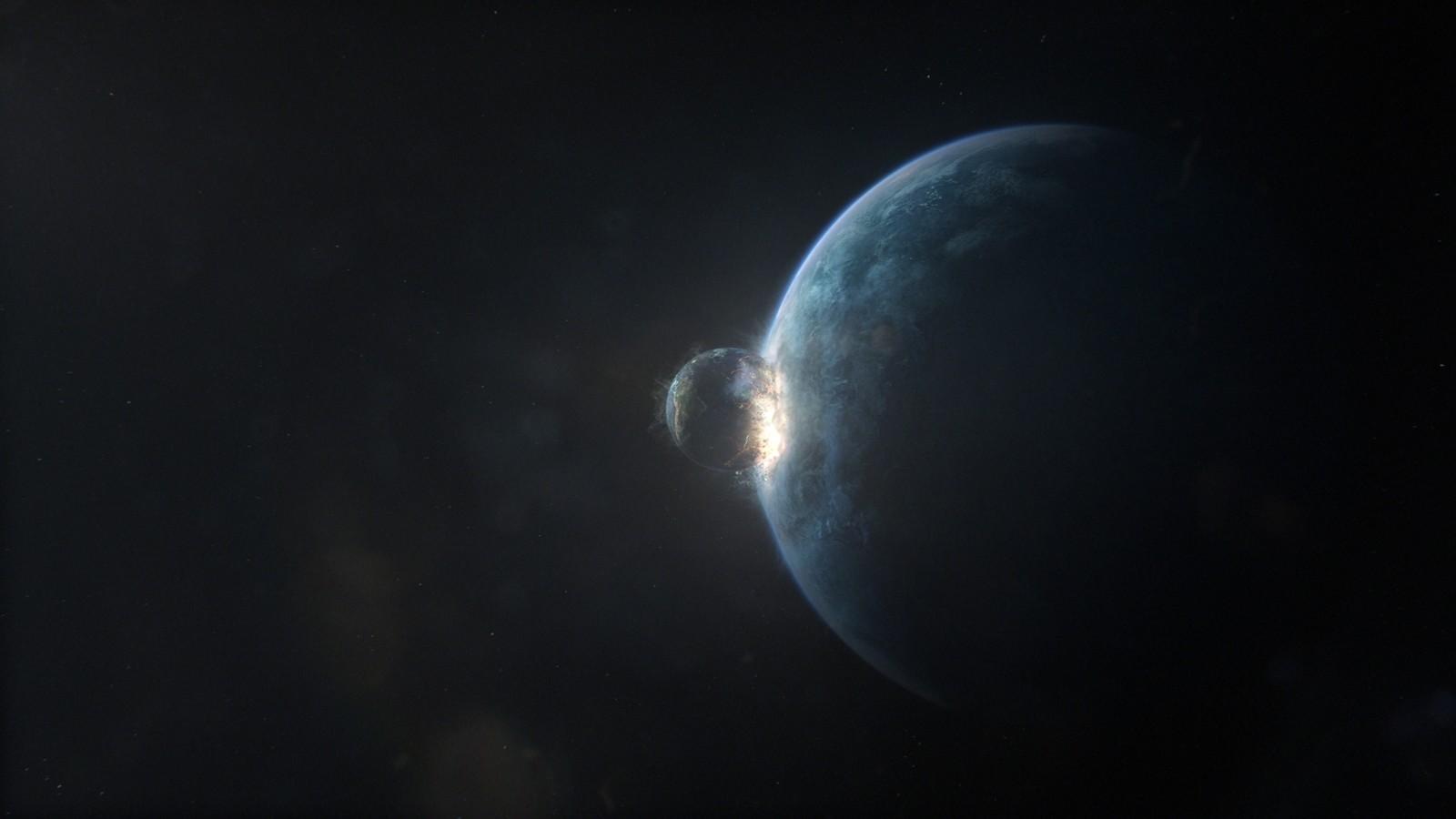 Final shot. Earth gets swallowed by melancholia