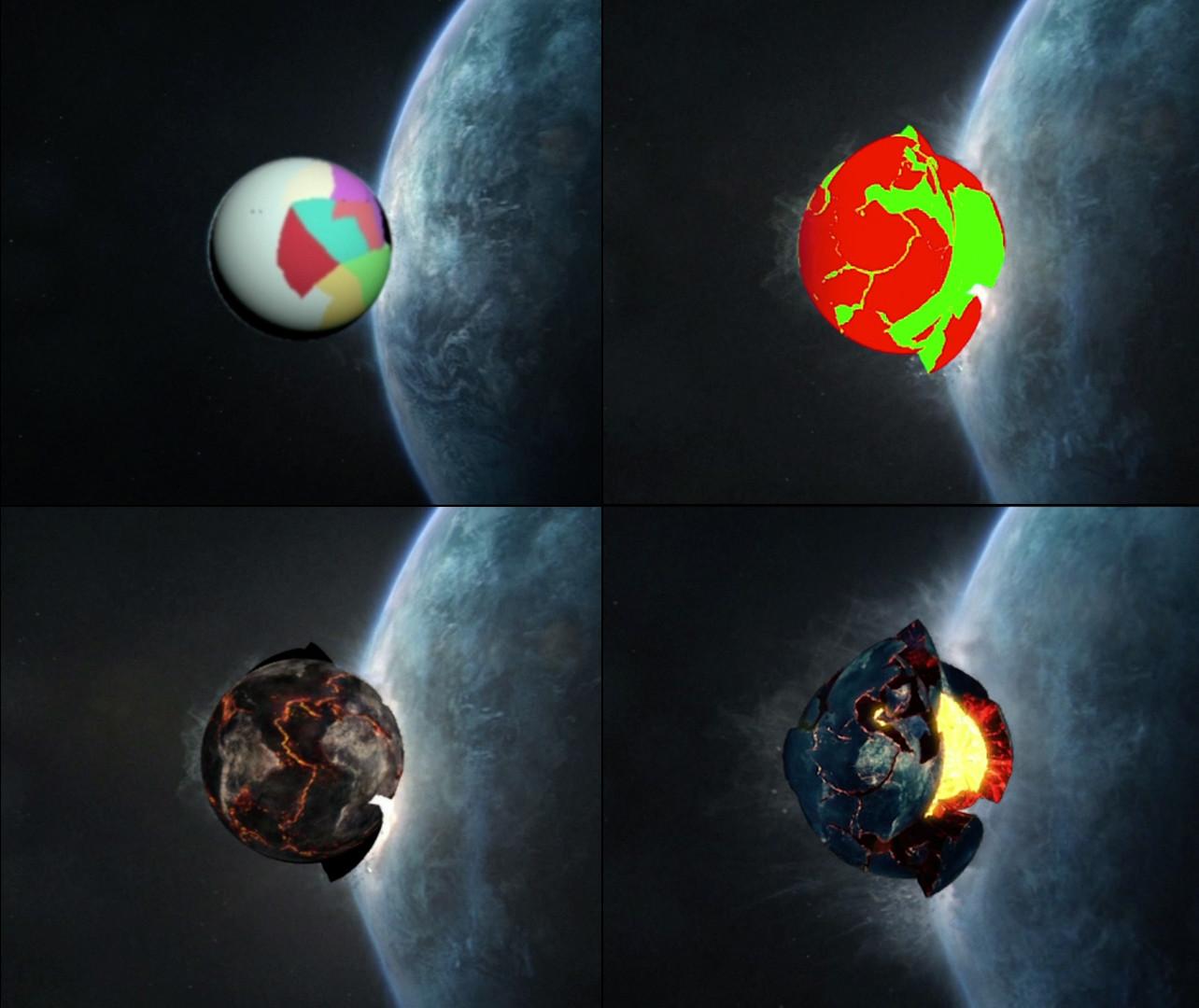 Destruction elements