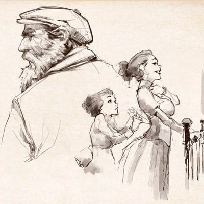 Nabetse zitro sketches 1