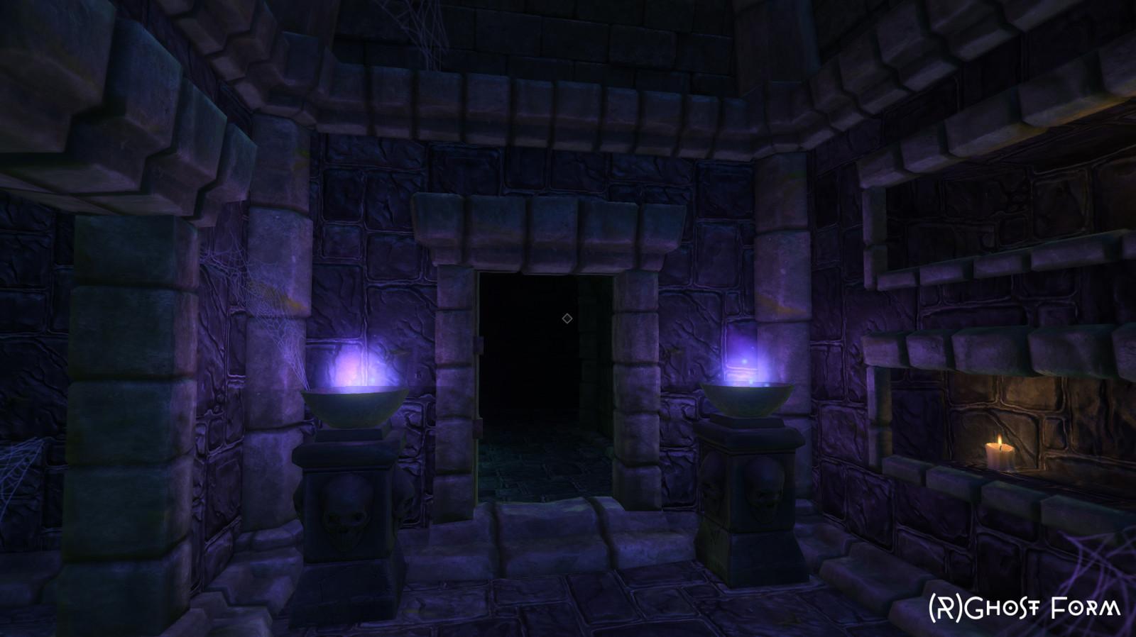 Purple chamber