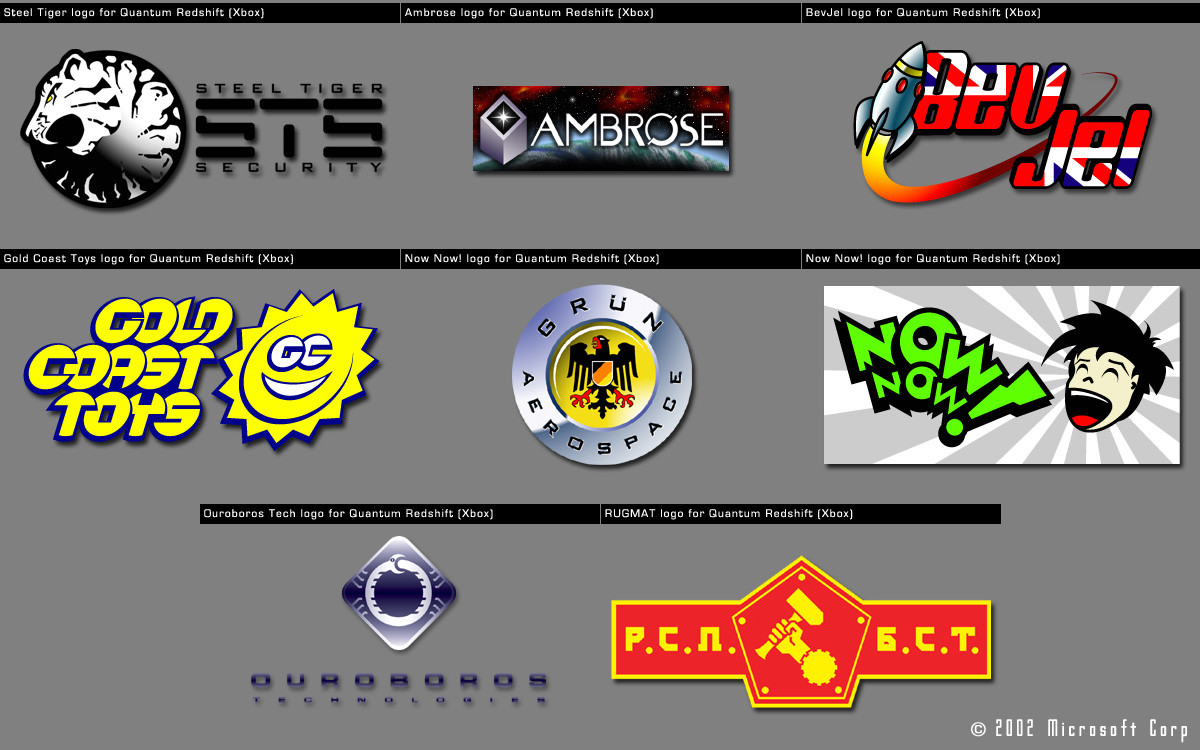 Logos for Quantum Redshift