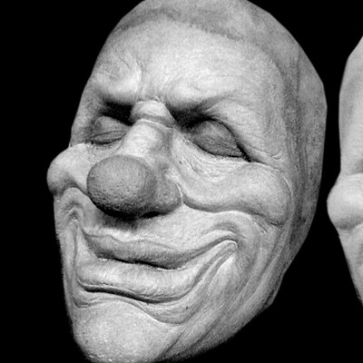 Charles wills clownsculptureprosthetic