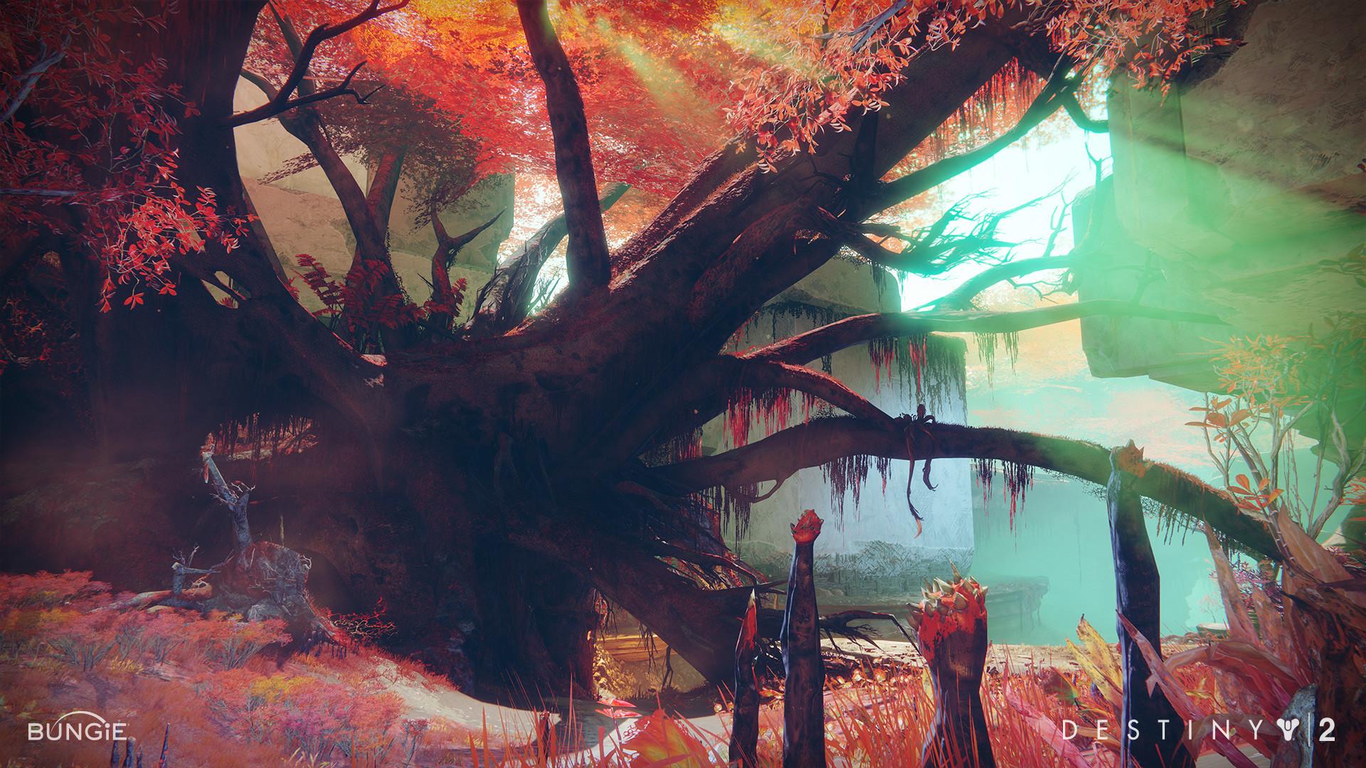 ArtStation - Destiny 2 Nessus Natural Palette, Steven Klipowicz