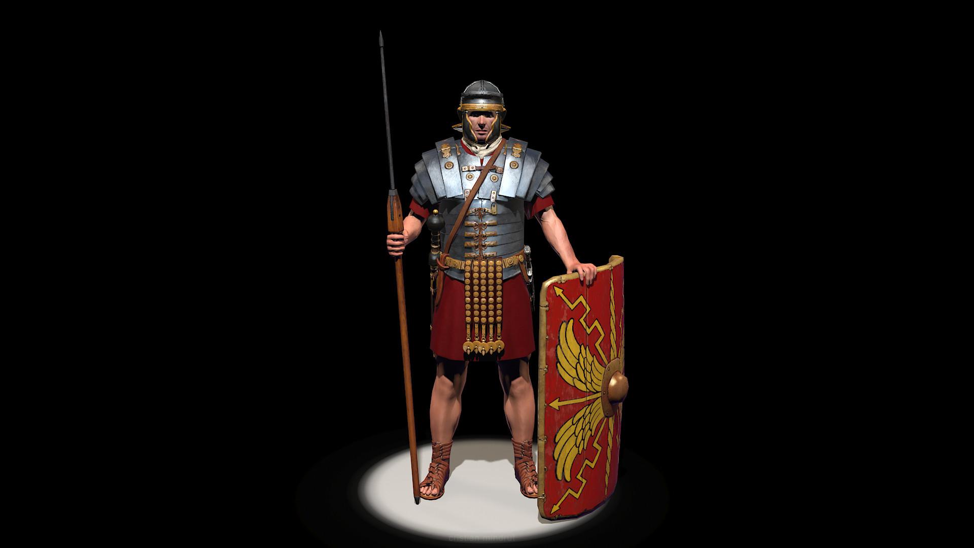 Cristian Mindrut Roman Soldier