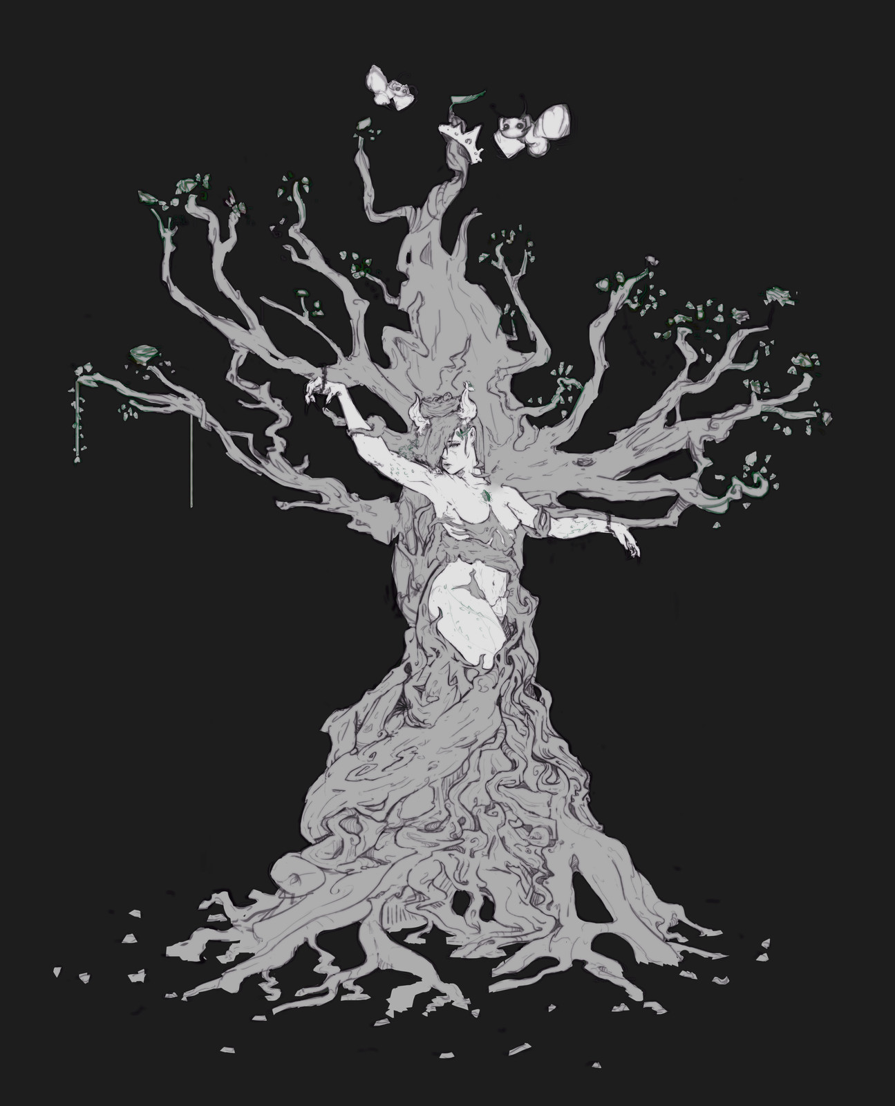 Spirit Tree_Sketch