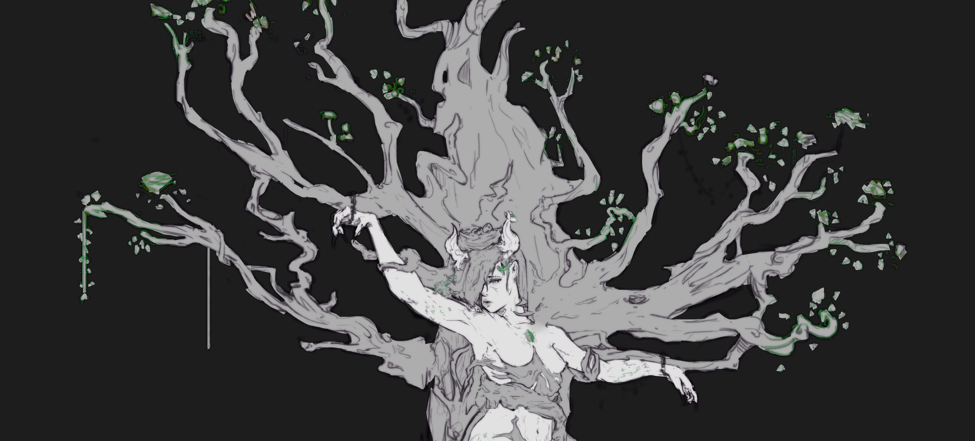 Boyan kazalov treegirlsketchcover