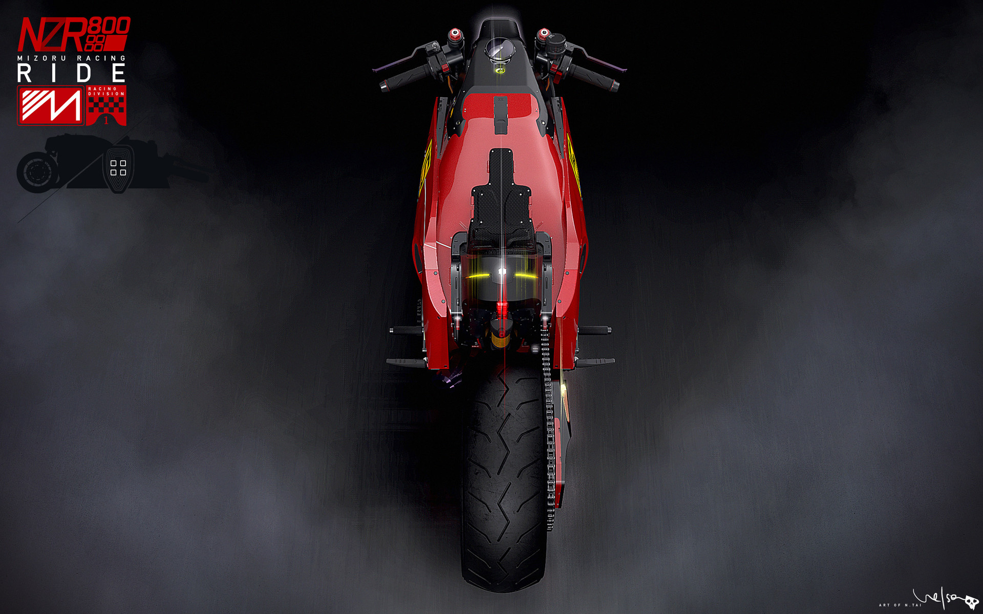 Nelson tai nzr500 dsgn bike top 001a