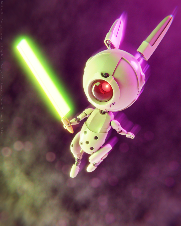Lucas falcao little bot bunny wip41