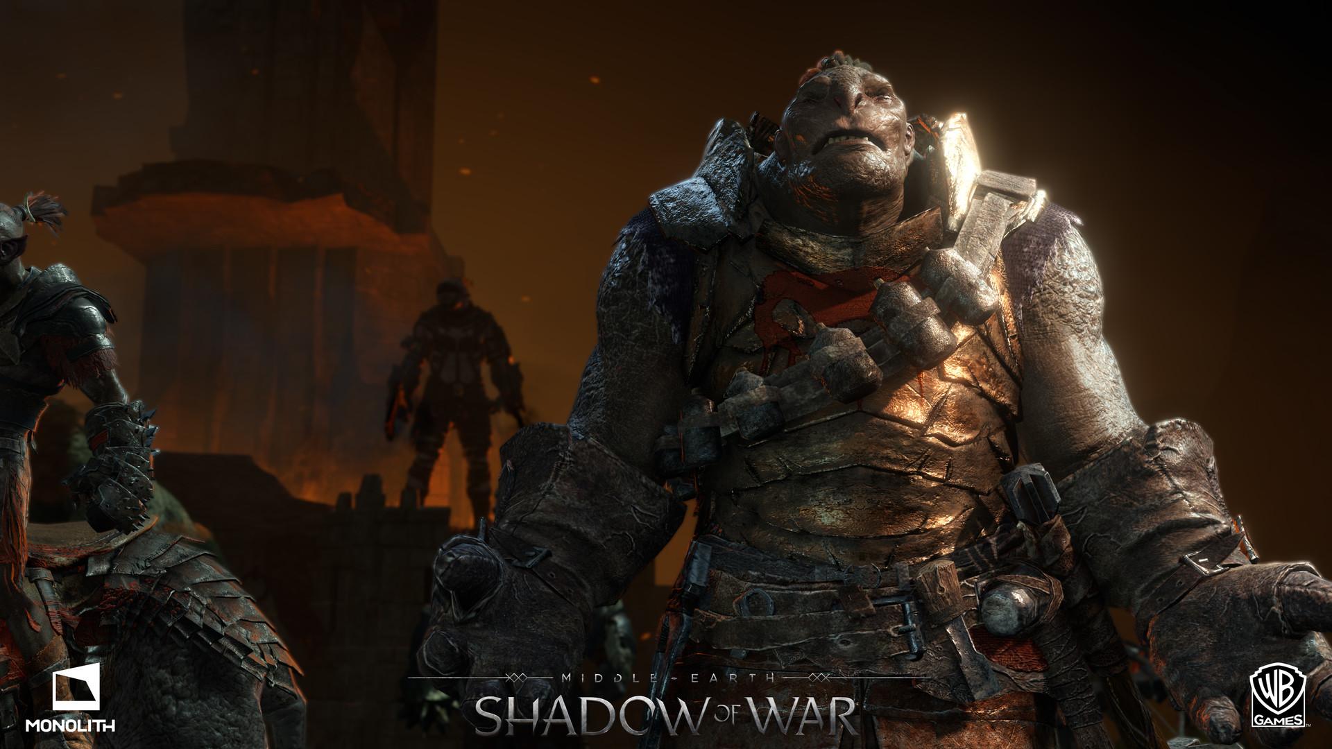Artstation Shadow Of War Ui Orc Details And Pause Menu Screens