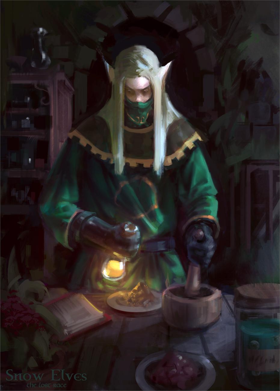 Snow Elves - The Alchemist