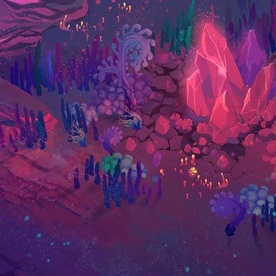 Inna hansen mushroom biome environment