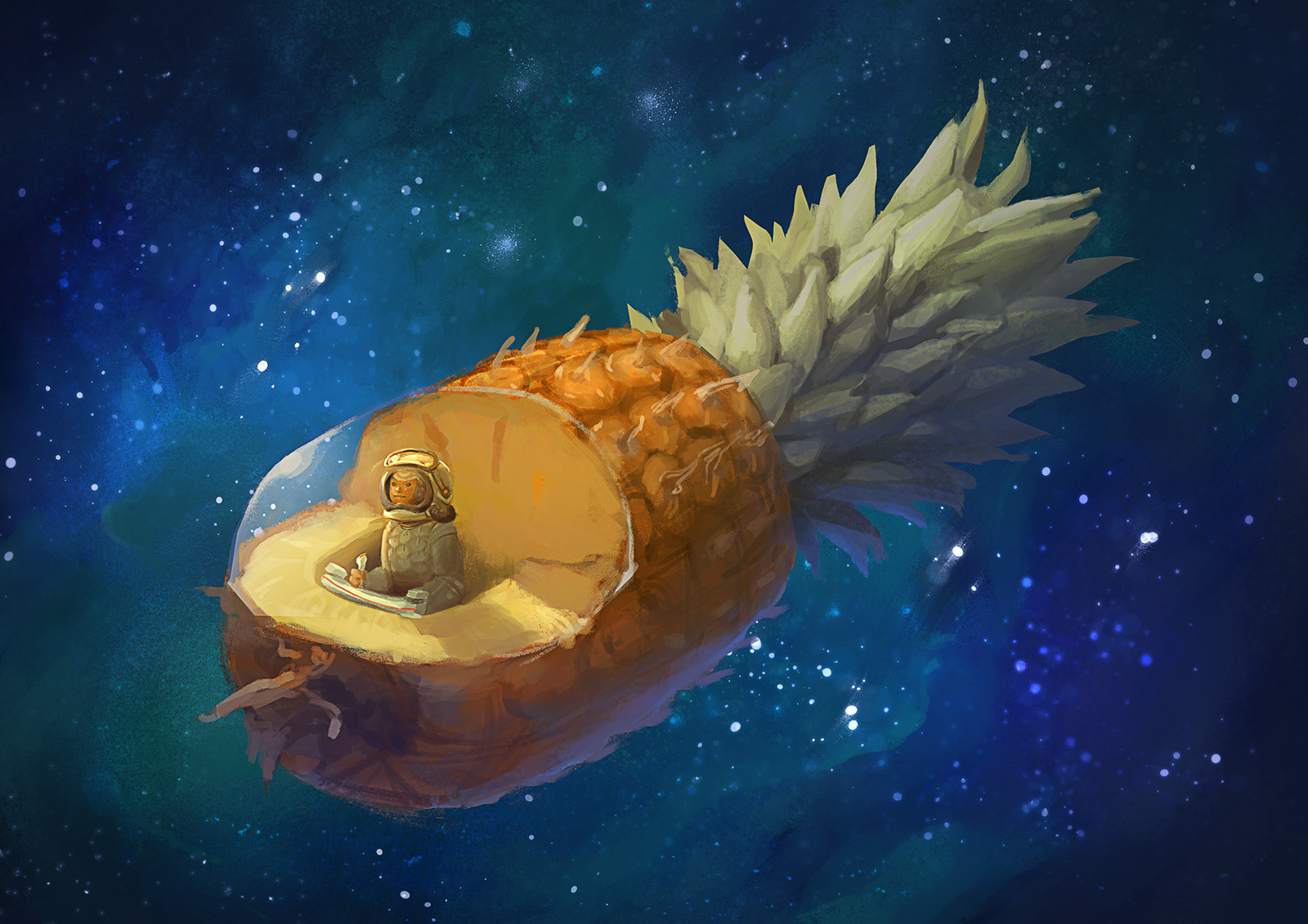 Pineapple Spaceship