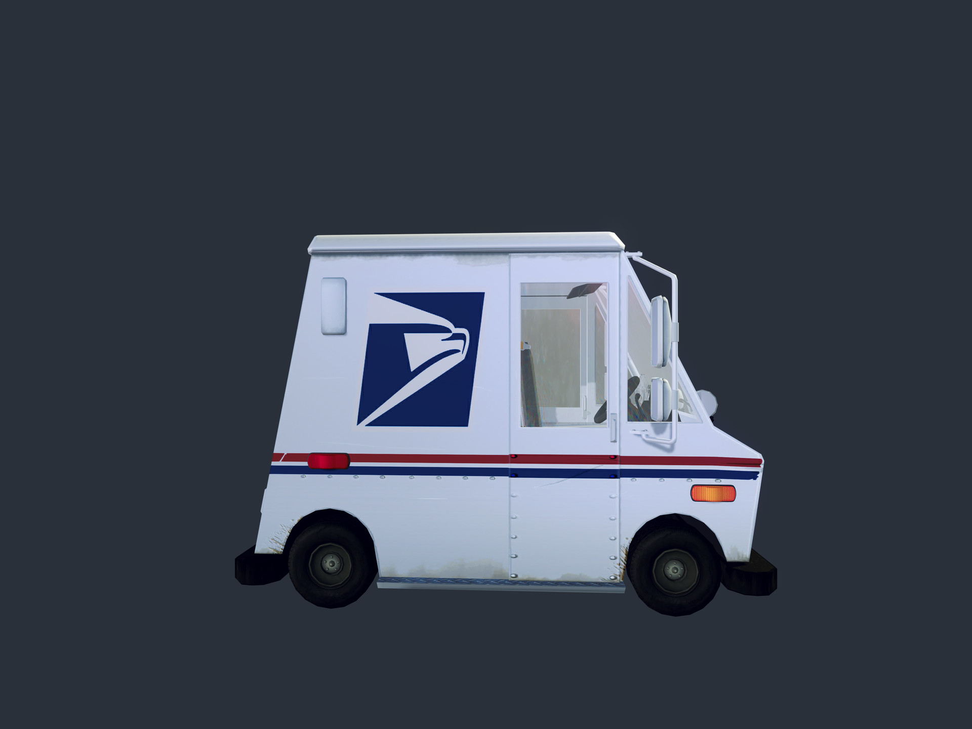 ArtStation - USPS LLV, Richard Hester