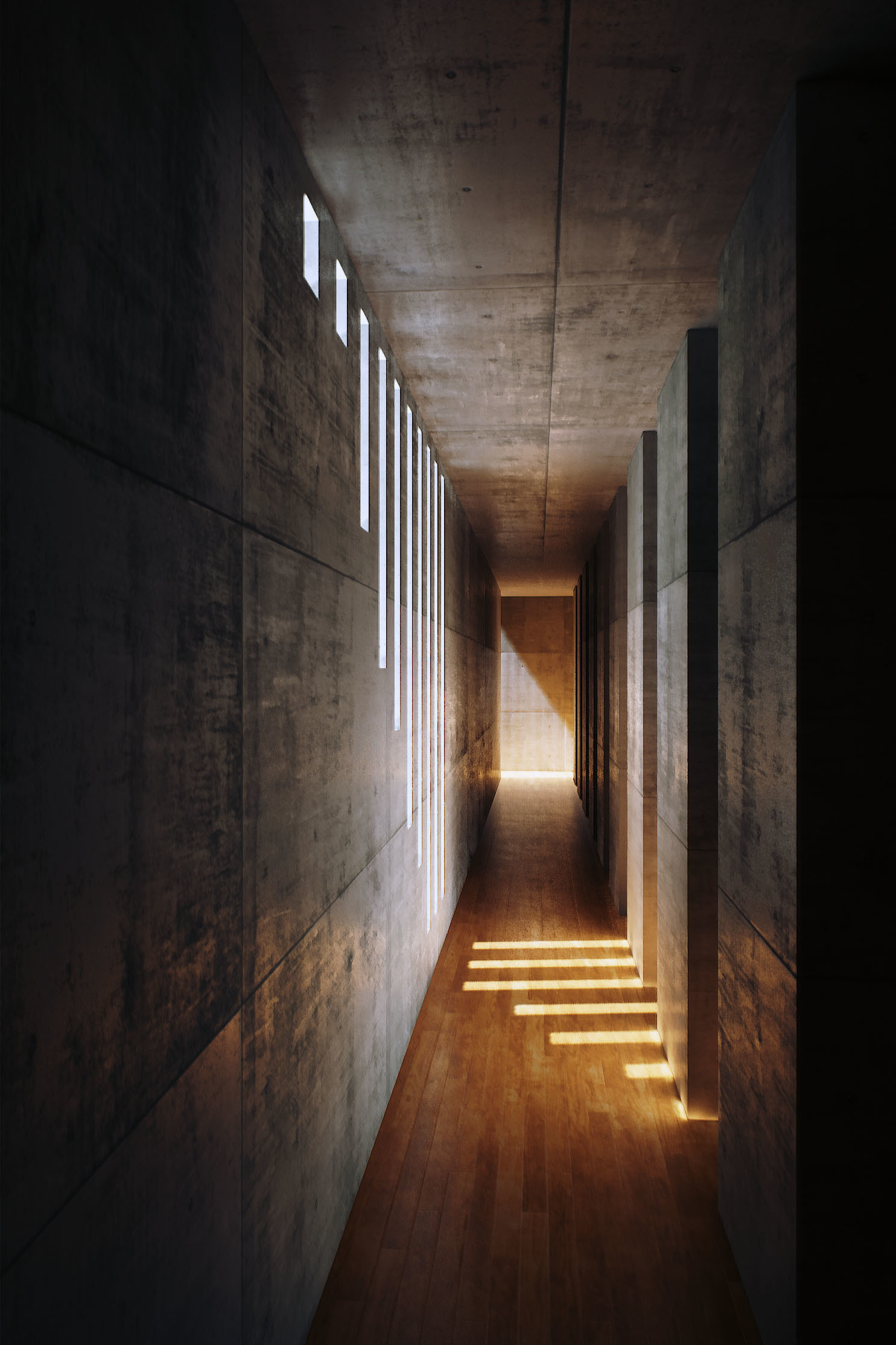 House Lighting Mine Yilmaz Ulas Portfolio Tadao Ando S