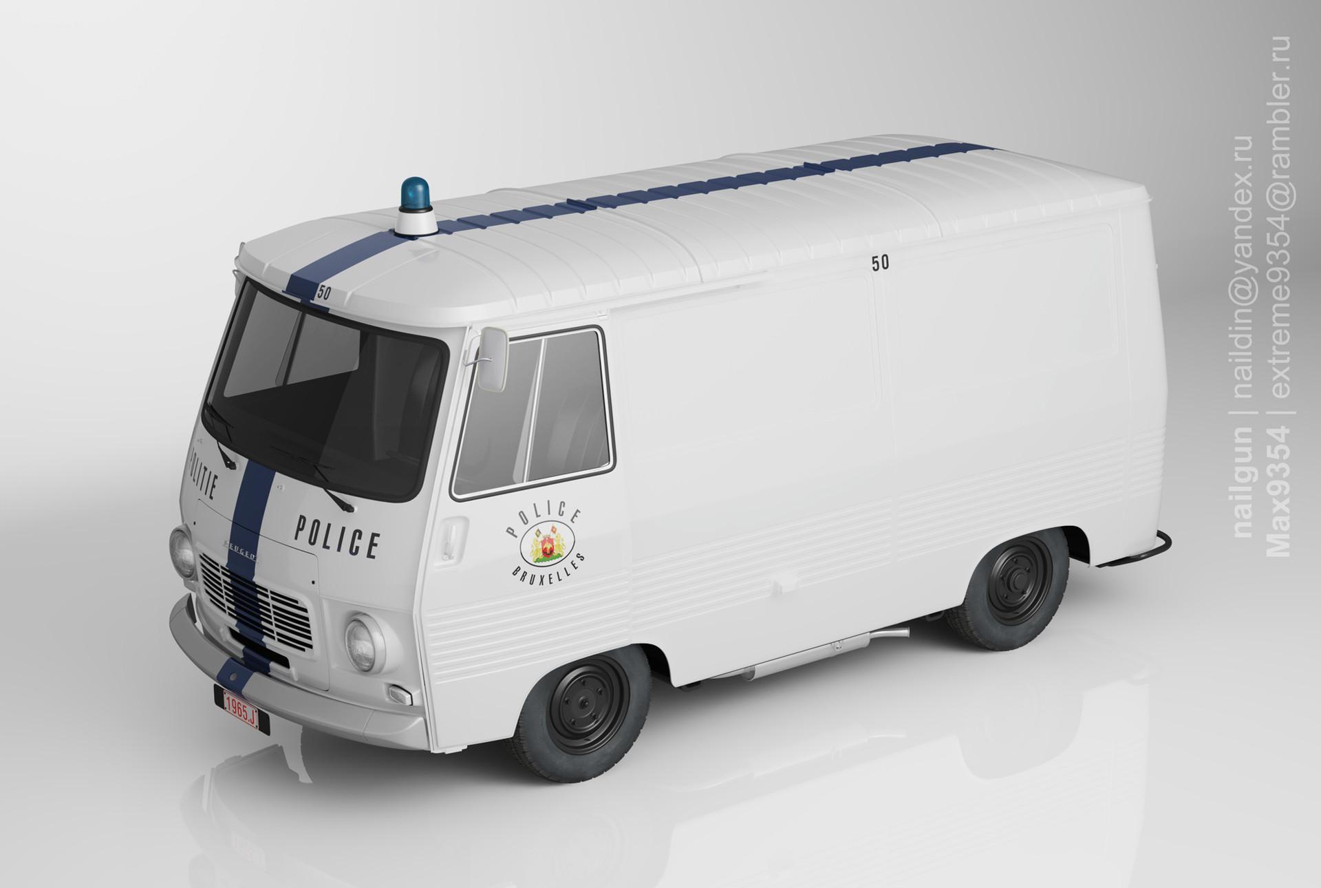 Nail khusnutdinov pwc 066 000 peugeot j7 miniature