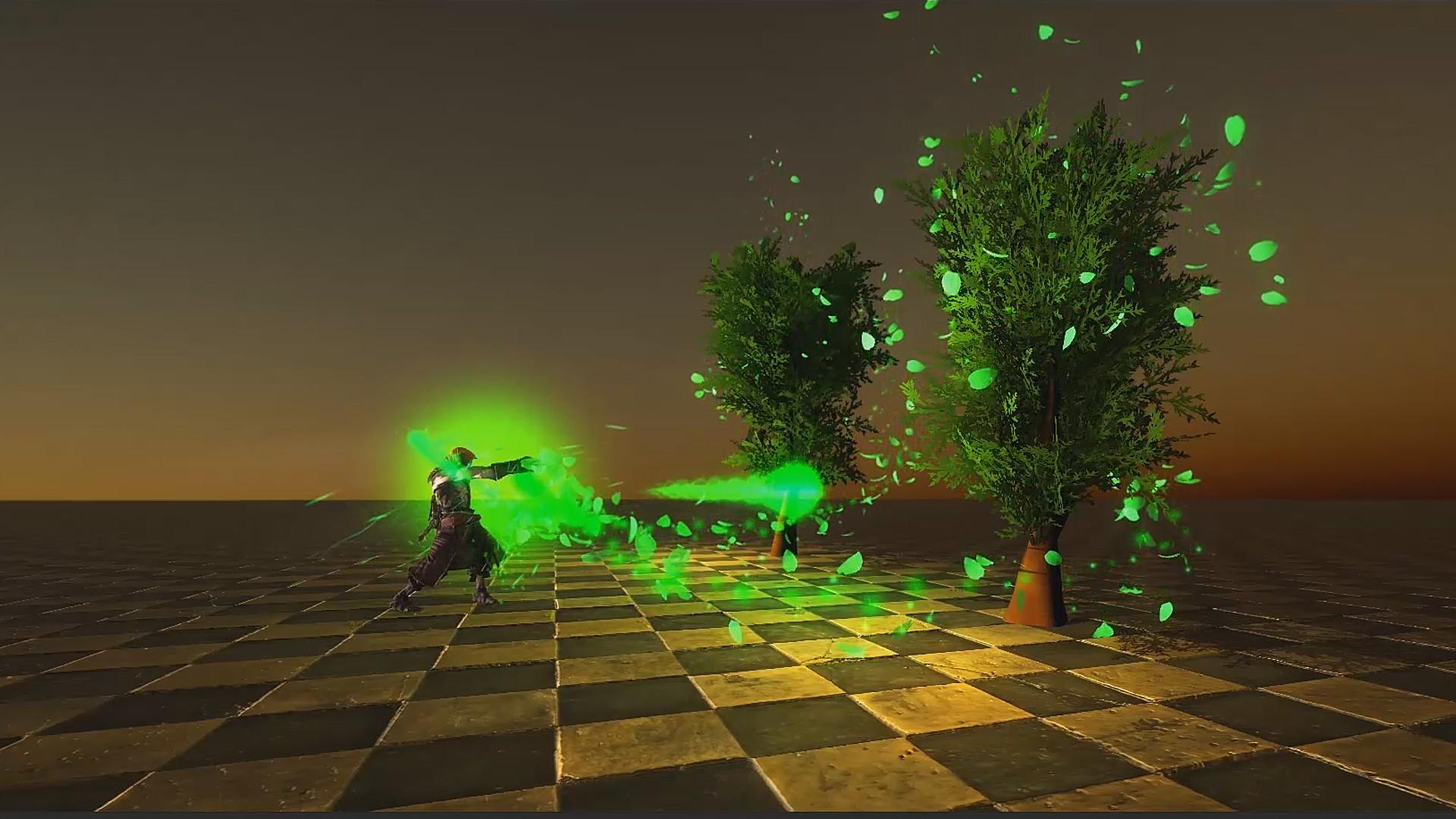 ArtStation - Game Effects - Nature Attack VFX, Gabriel Aguiar
