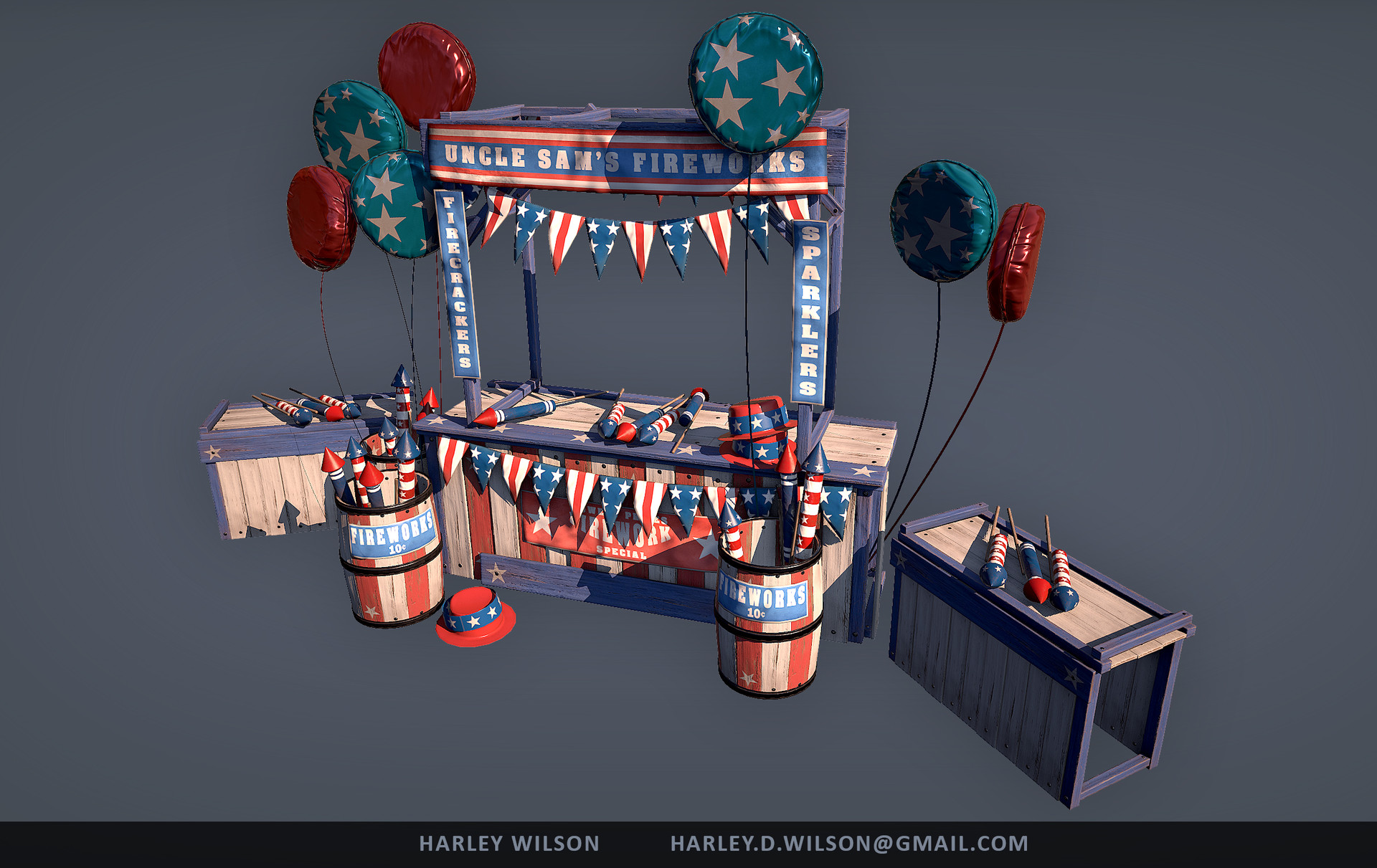 Harley wilson americana b