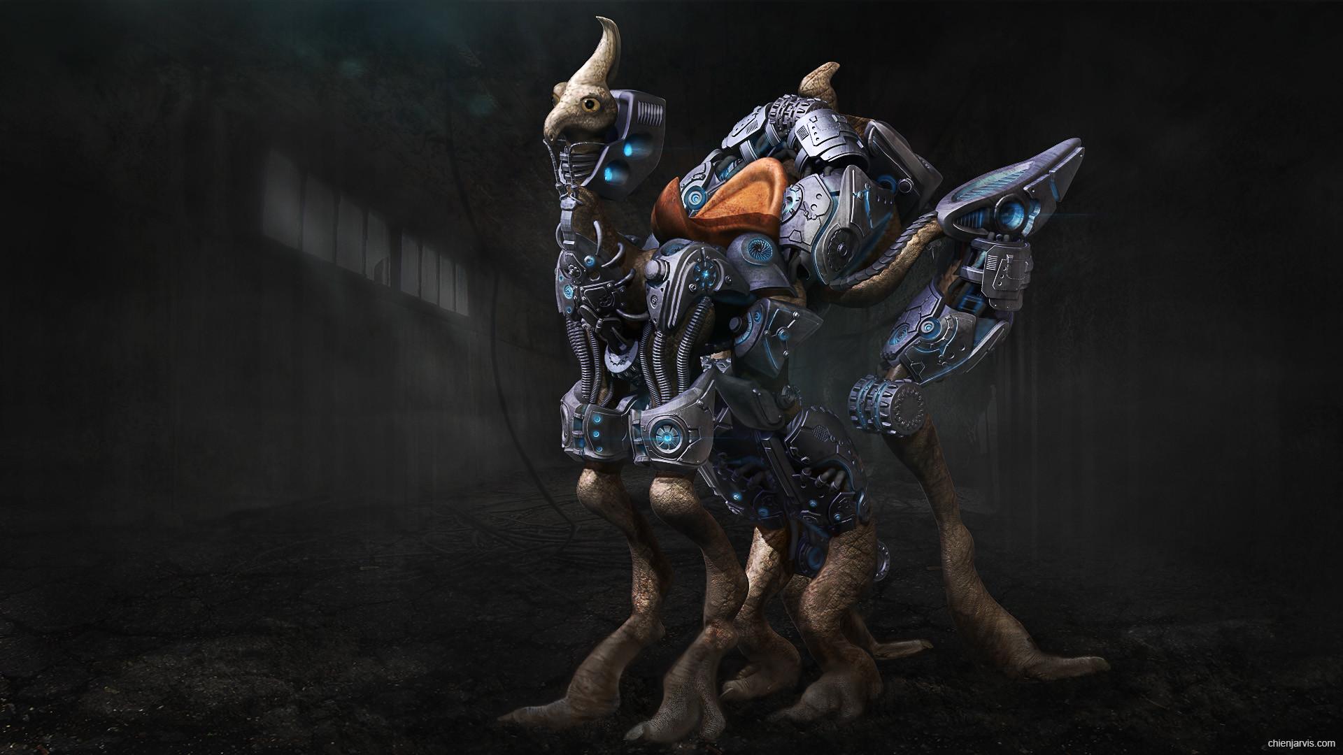 Chien jarvis cyborg creature 02