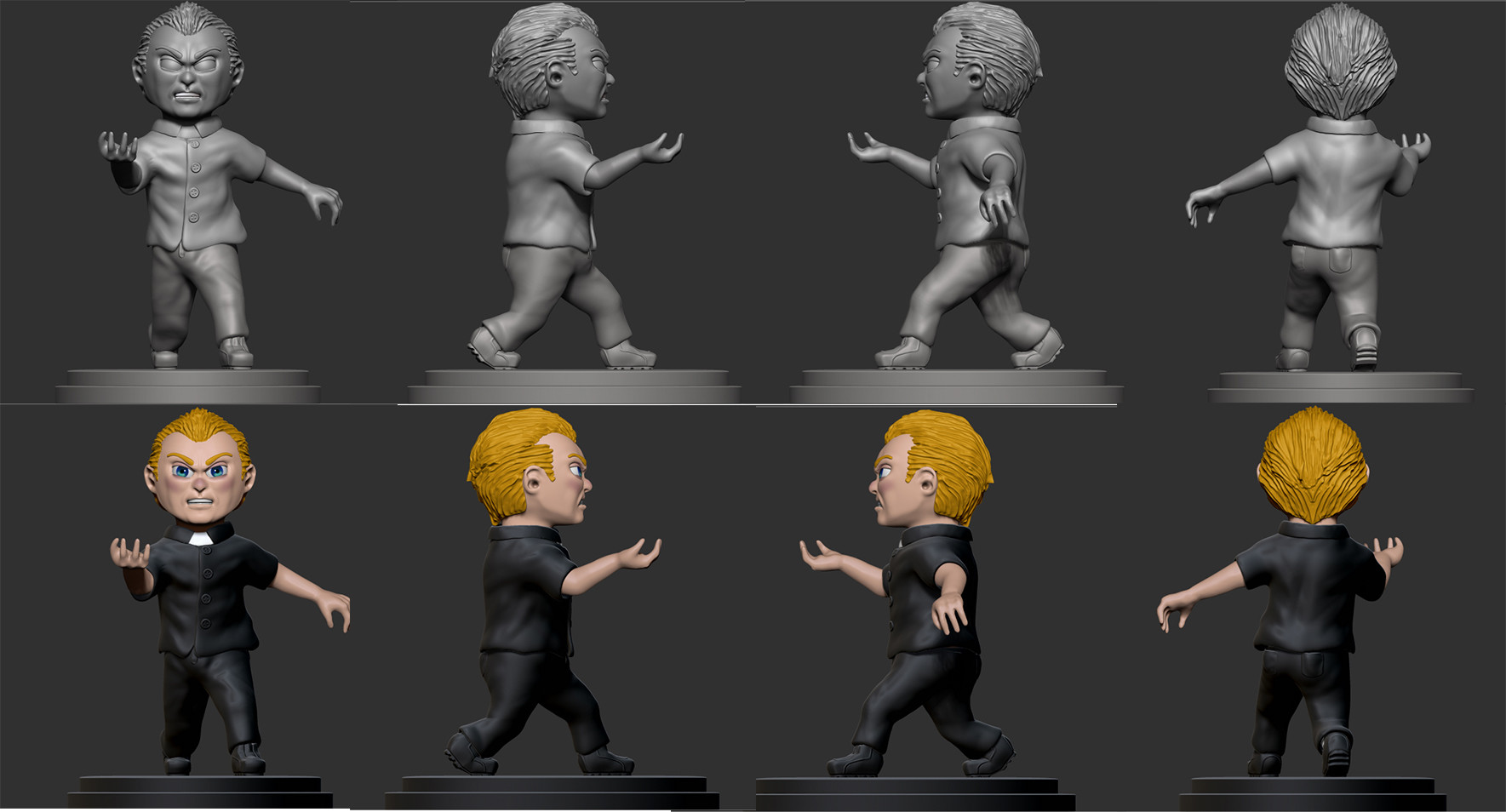 Josh simon robbie figure multishot