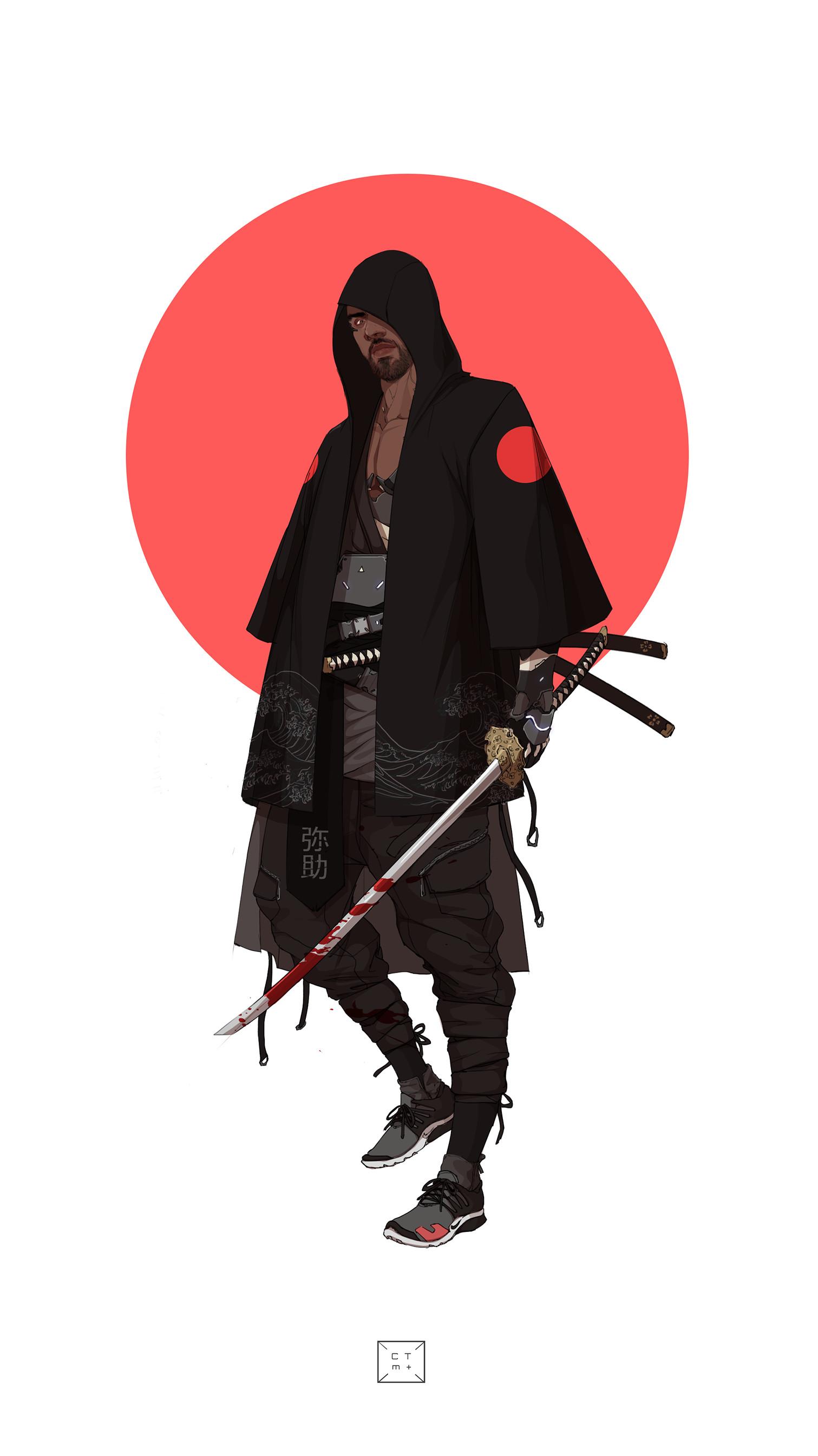 Artstation Neo Samurai Series 2 Yasuke Manilyn Toledana Yaşadığı yerde geçimini masaj yaparak ve kazandığı para ile kumar oynayarak sağlamaktadır. artstation neo samurai series 2