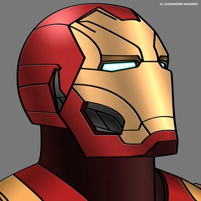 Alexander krasnov iron man hex 1