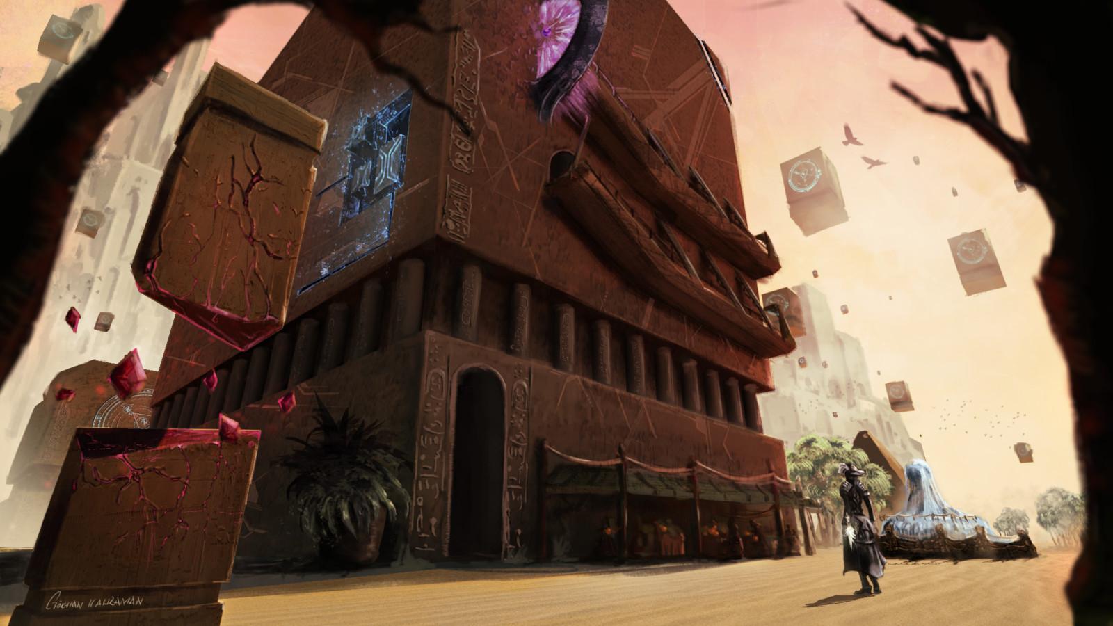 Path of Fire - Guild Wars 2 Fan Art