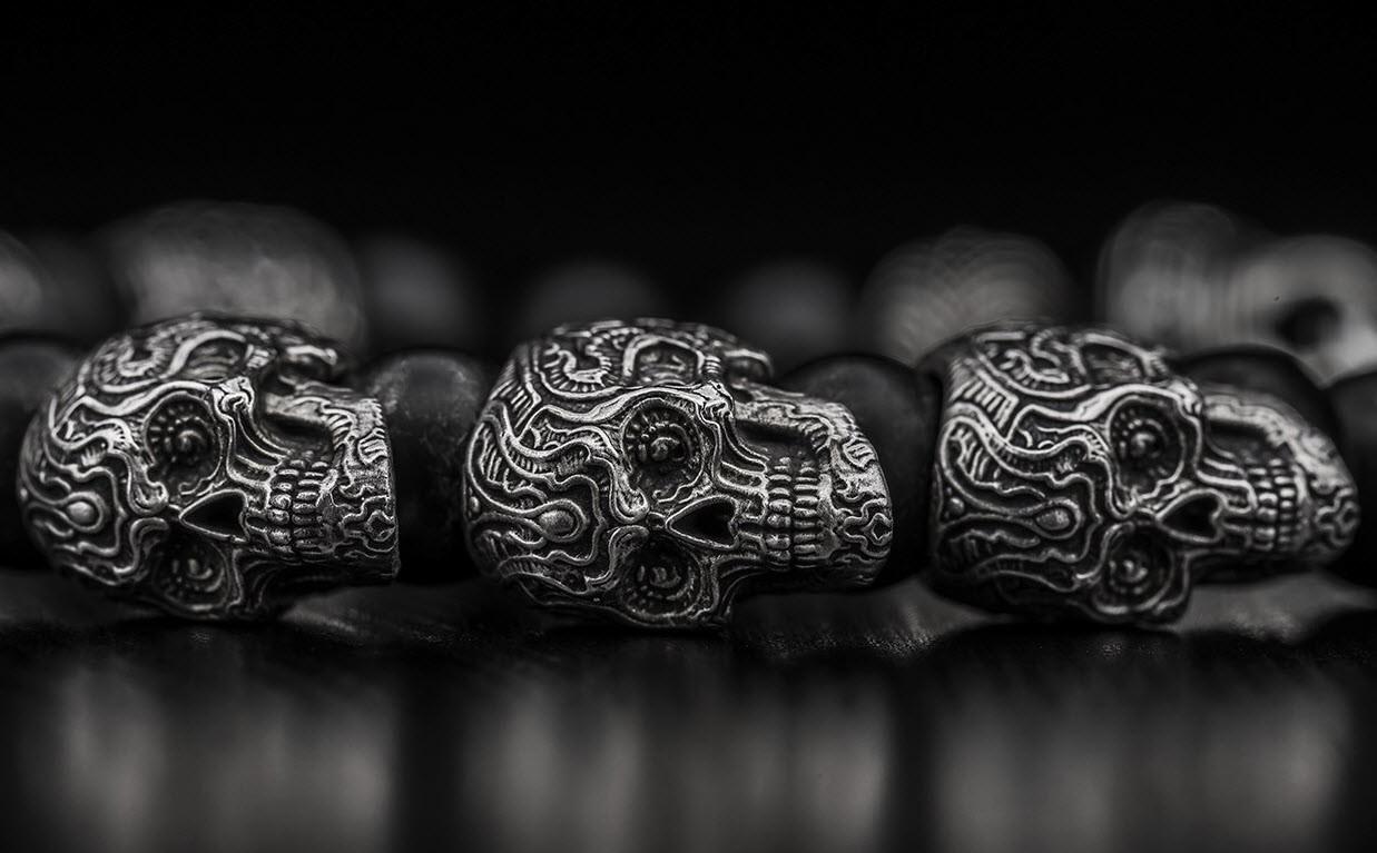 William Henry - prayer bead bracelets